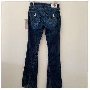NWT True Religion Flare Jeans Size 24